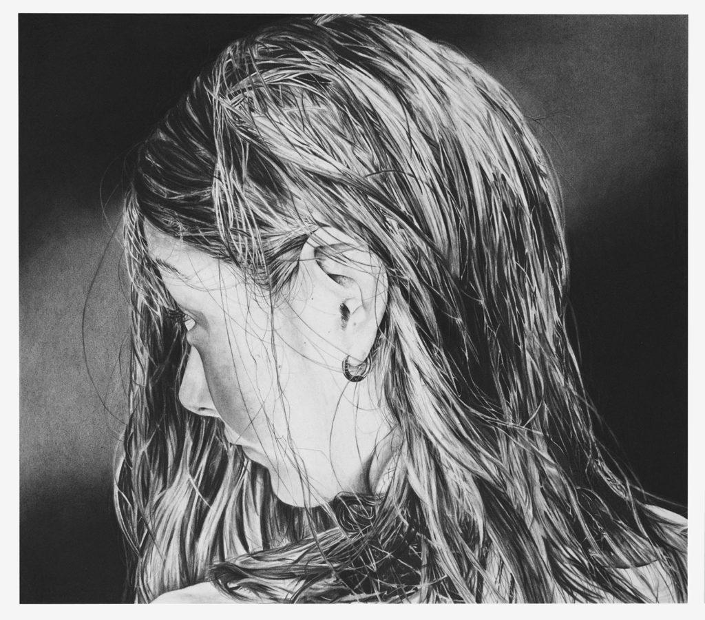 Untitled II Fusain sur papier ∧ 2018 ∧ 54,5cm x 62,5cm